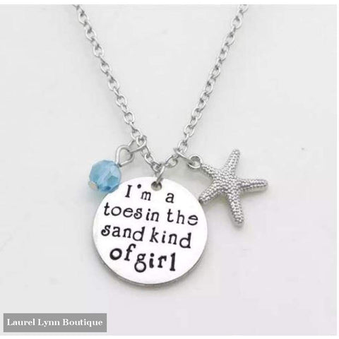 Toes In The Sand Necklace - Dh Gate - Blairs Jewelry & Gifts