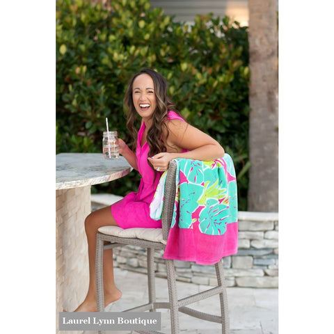 Totally Tropics Beach Towel - M1000VL - Viv & Lou