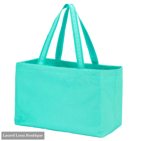 Ultimate Tote - Solid Colors - Mint / Embroidered - Viv & Lou