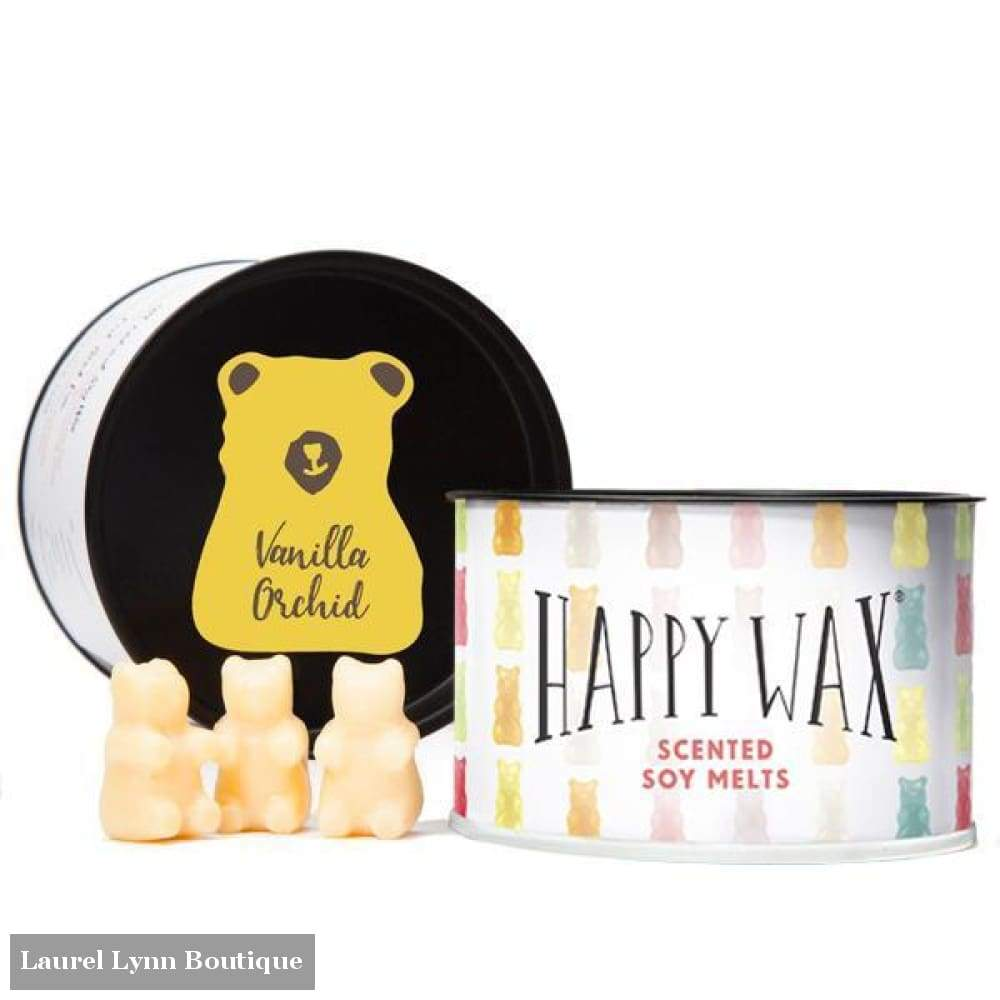 Vanilla Orchid Wax Melts - 3.6 oz - HW-01-VANILLAORD - Happy Wax