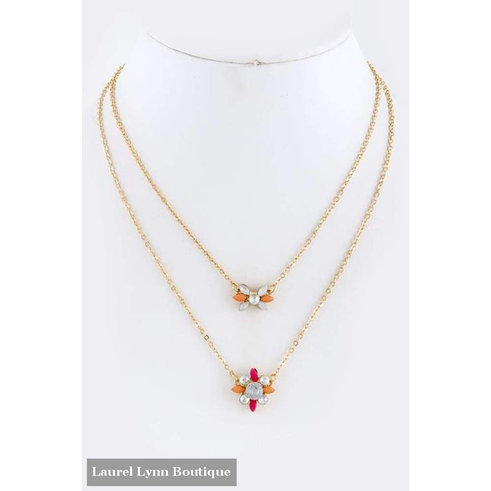 Vintage Floral Necklace - Blairs Jewelry & Gifts - Blairs Jewelry & Gifts