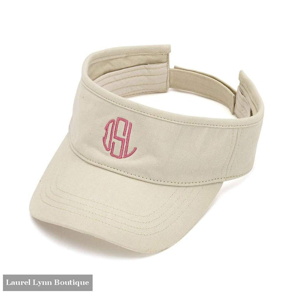 Visor - Natural / Blank - 2978 - Blairs Jewelry & Gifts - Blairs Jewelry & Gifts