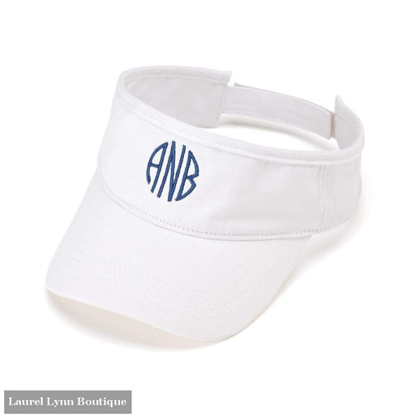 Visor - White / Blank - 5C72 - Blairs Jewelry & Gifts - Blairs Jewelry & Gifts