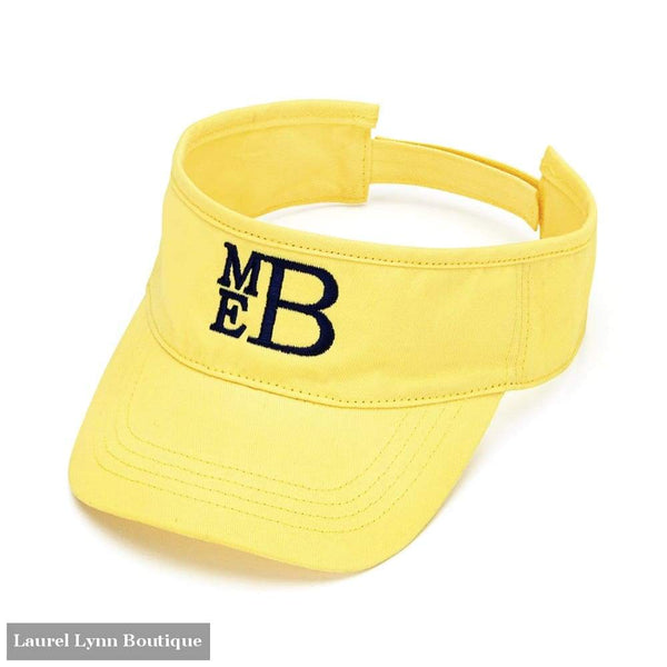 Visor - Yellow / Blank - 2978 - Blairs Jewelry & Gifts - Blairs Jewelry & Gifts