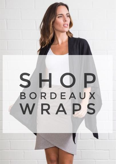 The Bordeaux Wrap by Simply Noelle