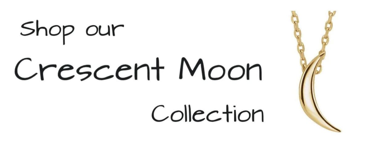 This is Us Crescent Moon Necklaces and Jewelry