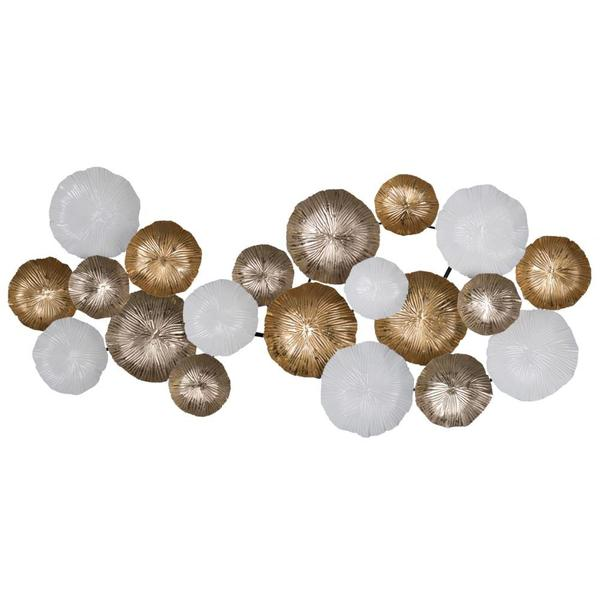 Beautifully Designed Metal Wall Accent, Multicolor