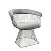 STRAND CHAIR, GRAY/SILVER