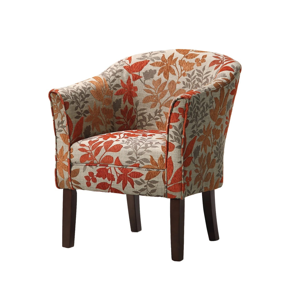 Colorfully Catchy Accent Chair, Multicolor
