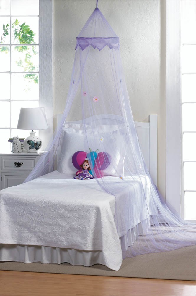 Purple Bed Canopy