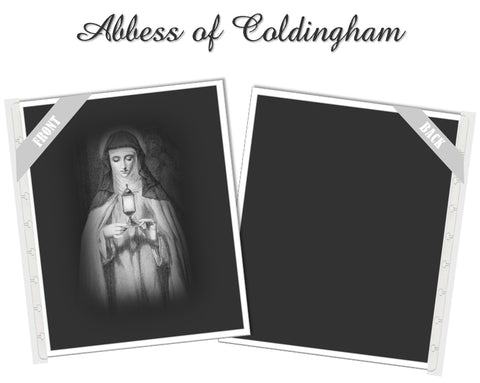 Abbess of Coldingham Planner