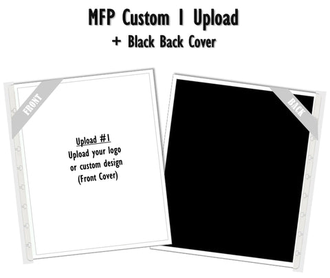 MFP Custom 1 Upload (Black) Planner