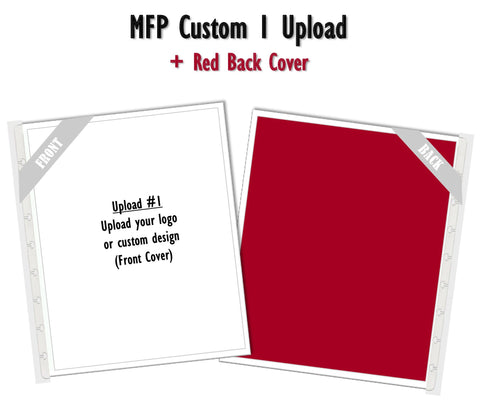 MFP Custom 1 Upload (Red) Planner