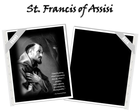 St. Francis of Assisi Planner