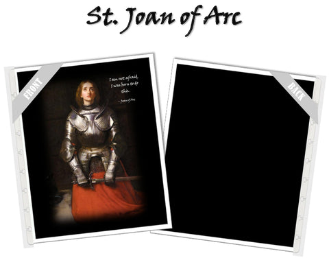 St. Joan of Arc Planner