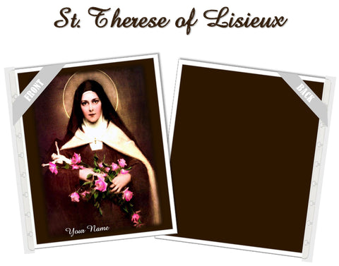 St. Therese of Lisieux Planner