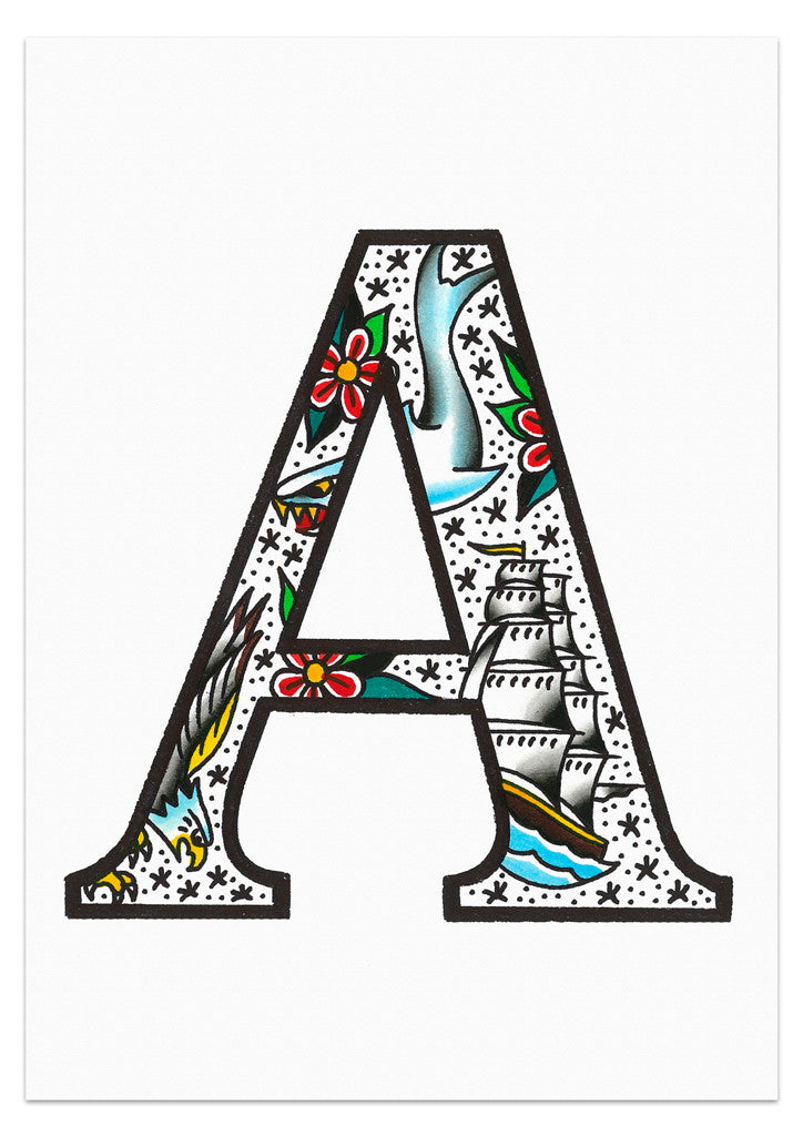 'SJ Letters' Prints by Steen Jones - 1