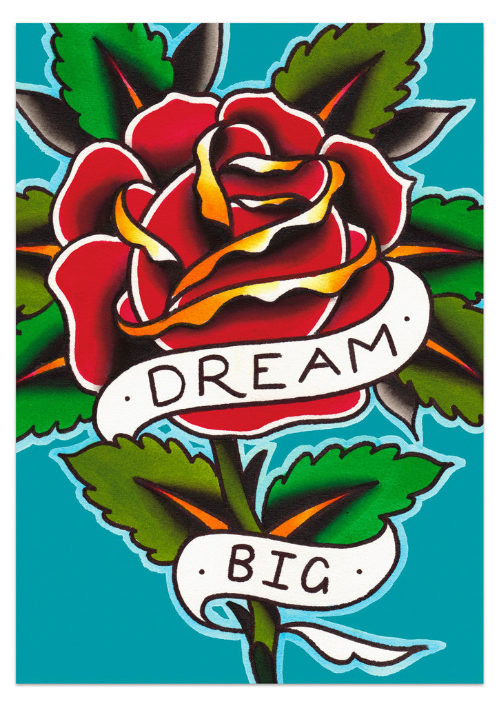 'Dream Big' Print by Steen Jones