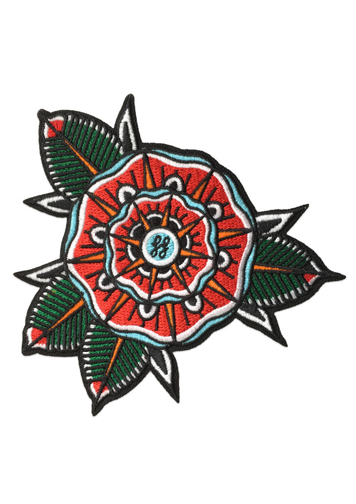 'Geo Flower' Patch by Steen Jones