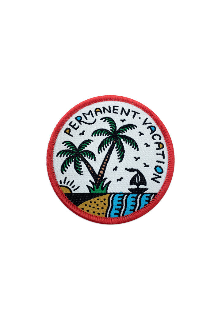 'Permanent Vacation' Patch by Steen Jones