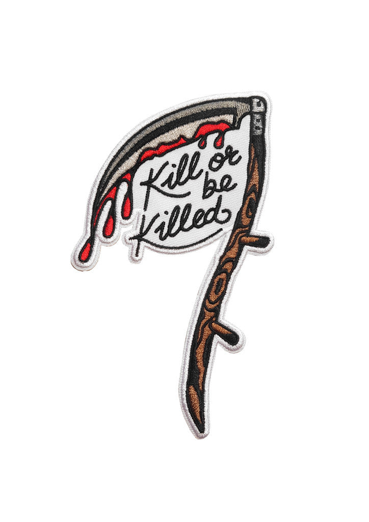 'Kill Or Be Killed' Patch by Steen Jones