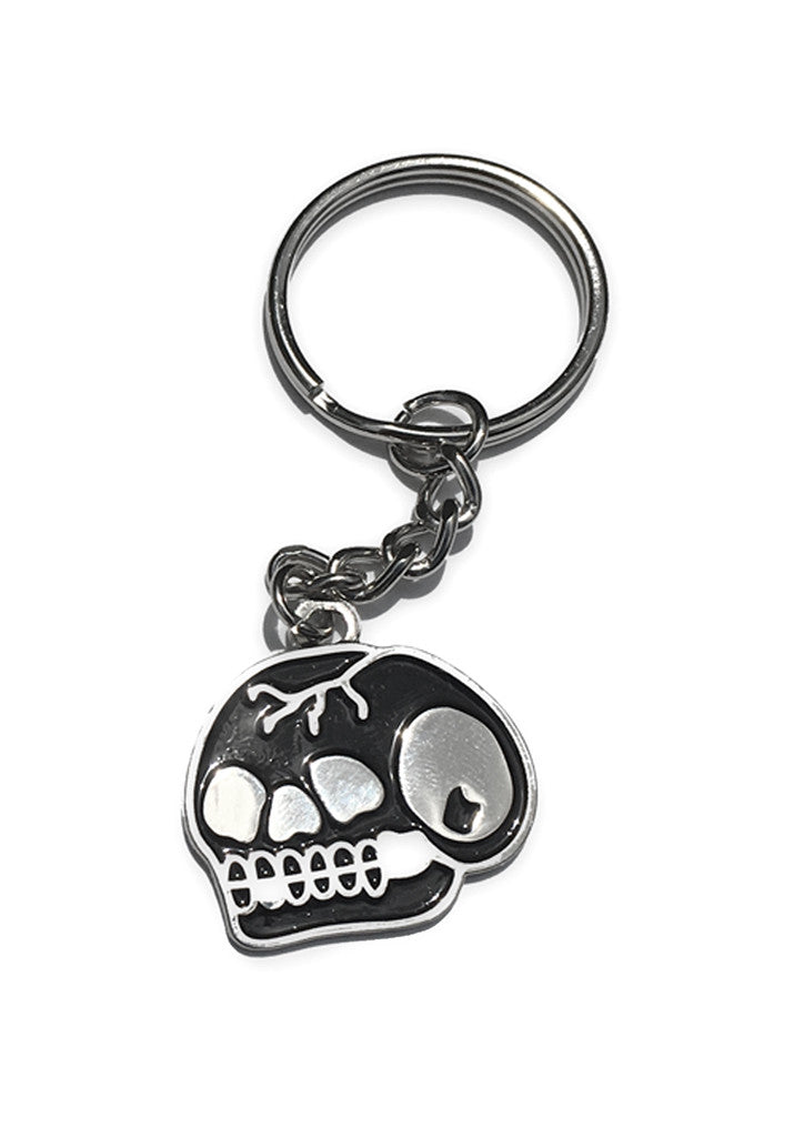 'Trademark Skull' Keyring by Steen Jones