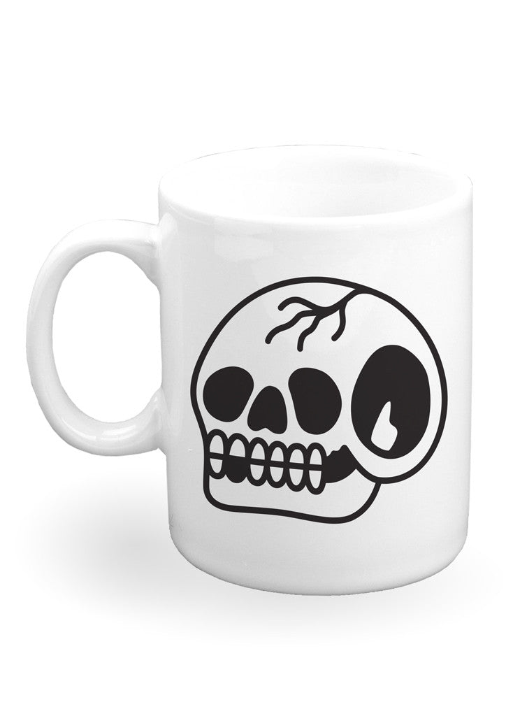 'Trademark Skull' Mug by Steen Jones - 1