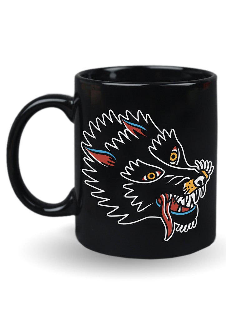 'Wolf' Mug by Steen Jones - 1