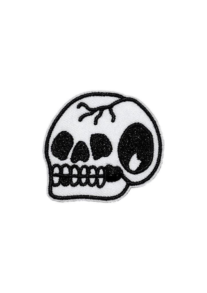 'Trademark Skull' Patch (Large) by Steen Jones