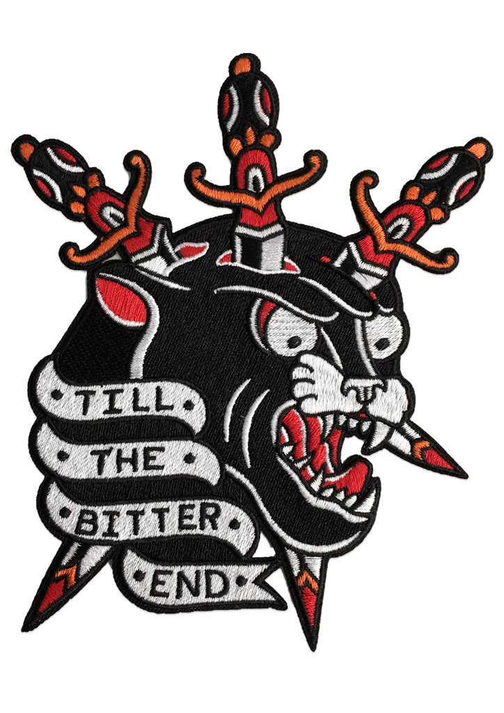 'Till The Bitter End' Patch (Large) by Steen Jones