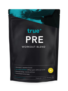 Pre Workout Blend (including caffeine - 500g) - Lemon Burst