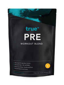Pre Workout Blend (no caffeine - 500g) - Orange Sensation