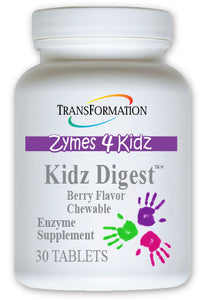 Kidz Digest Chewable (30) - DIGESTION SUPPORT AUSTRALIA  - 1