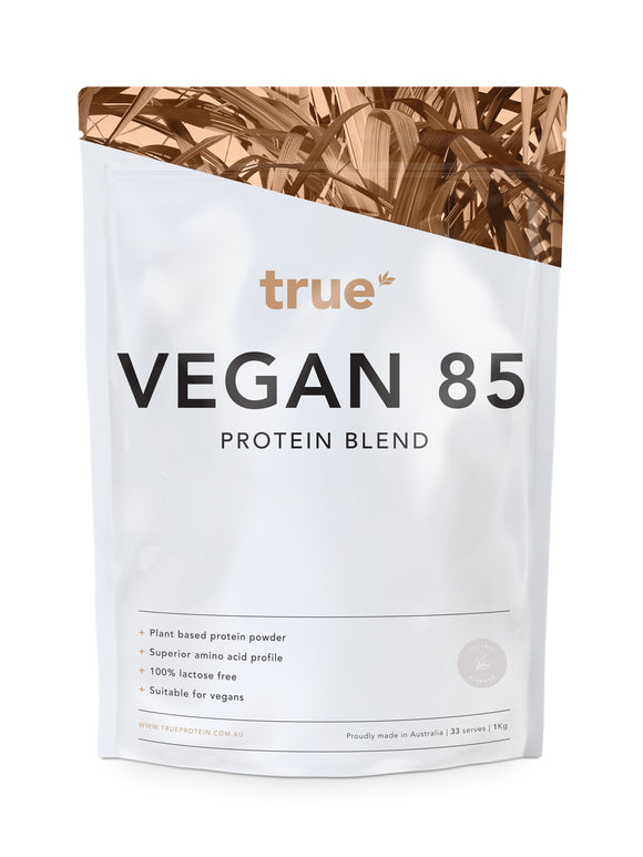 Vegan 85 - Plant Based Protein Blend (1kg) - Natural
