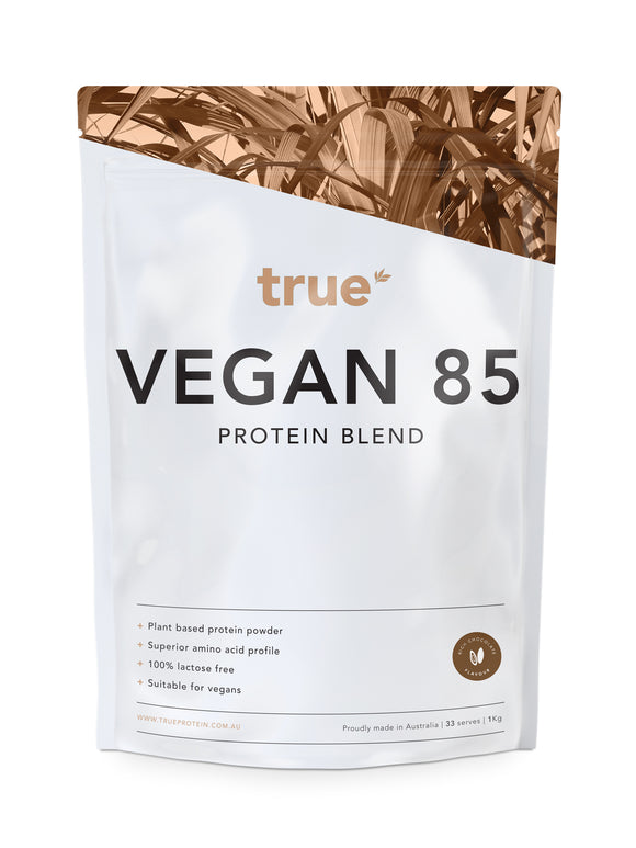 Vegan 85 - Plant Based Protein Blend (1kg) - Rich Chocolate