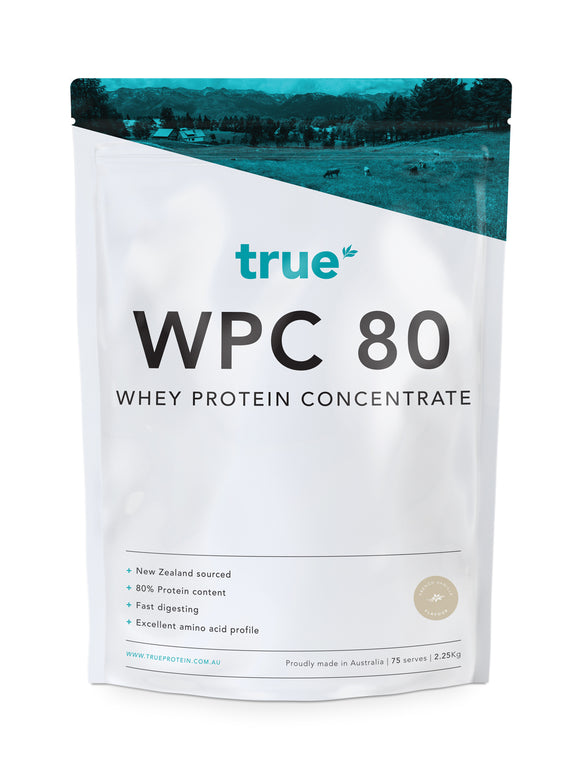 WPC 80 - Whey Protein Concentrate (2.25kg) - French Vanilla