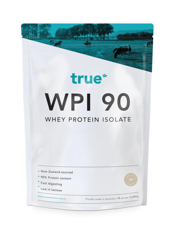 WPI 90 - Whey Protein Isolate (2.25kg) - French Vanilla