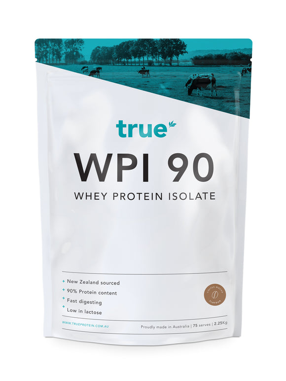 WPI 90 - Whey Protein Isolate (2.25kg) - Organic Coffee Mocha