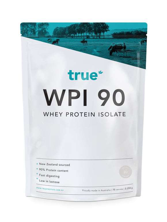 WPI 90 - Whey Protein Isolate (2.25kg) - Natural