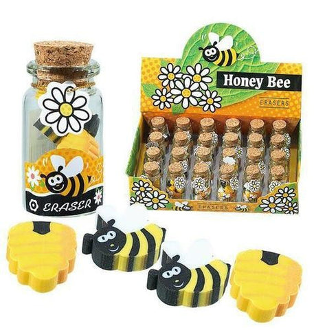 Honey Bee Erasers