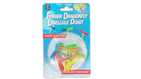 Finger Dragonflies