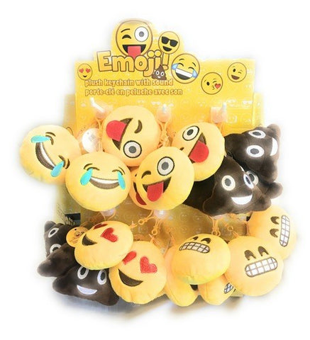 Emoji Keychains with Sound