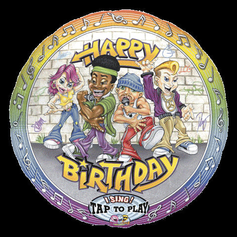 Sing-A-Tune, Rappers Happy Birthday - 28""
