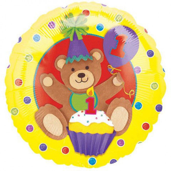 1st Birthday Bear - 18""
