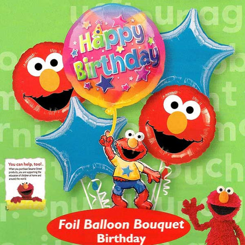 Elmo Floating Balloon Bouquet & Party Packages