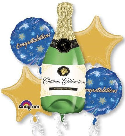 Champagne Bottle Bouquet & Party Packages
