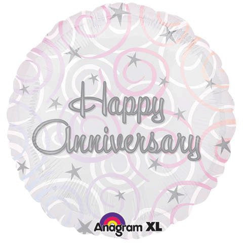 Happy Anniversary Swirls