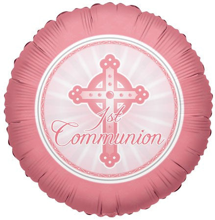 1st Communion Light Pink - 18""