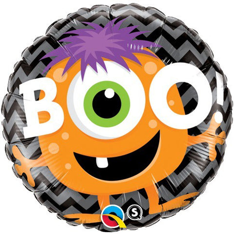 Boo! Monster Chevron - 18""