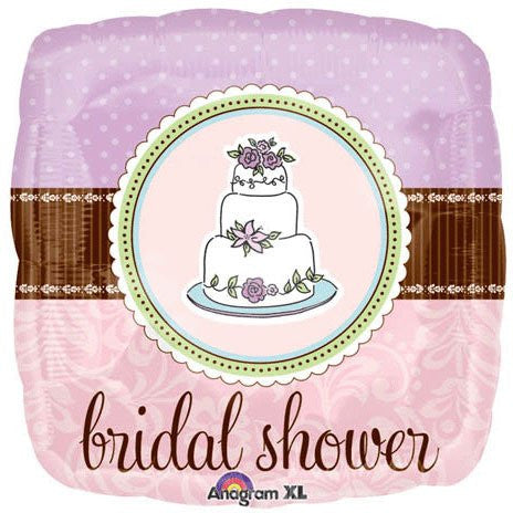 Bridal Shower Whimsy Cake - 18""